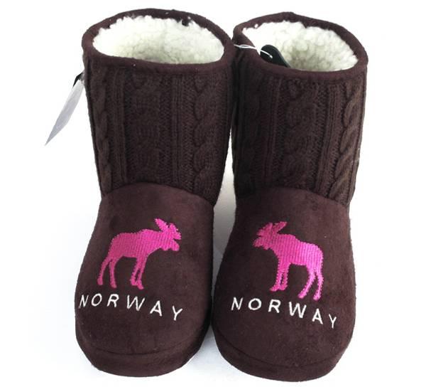 Bilde av Tøffel Norway brun-rosa
