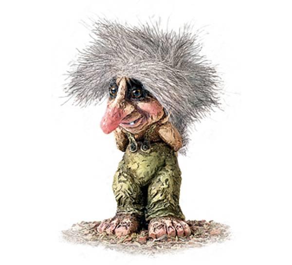 Bilde av Troll, gammel mann (Troll nr. 032)