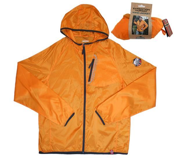 Bilde av Vindjakke orange, unisex