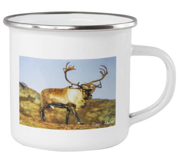 Bilde av Emaljekrus, reinsdyr `Blikk i naturen`