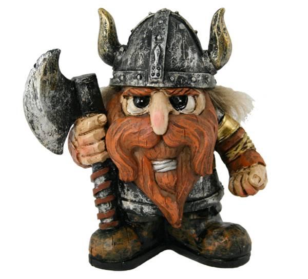Bilde av Figur, viking med øks