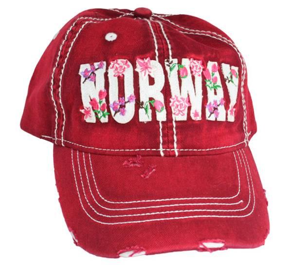Bilde av Caps, 'Norway', bringebærrød