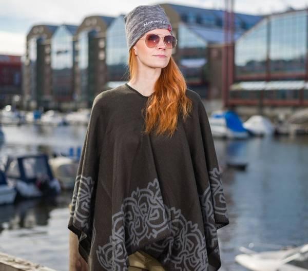 Bilde av Ponsjo med vikingmønster