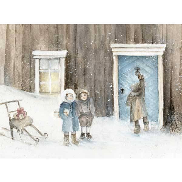 Bilde av Vinterbarn Krus, Barn med spark