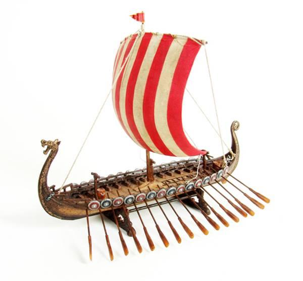 Bilde av Vikingskip, stort