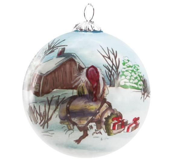 Bilde av Julekule,håndmalt, Gammelnissen