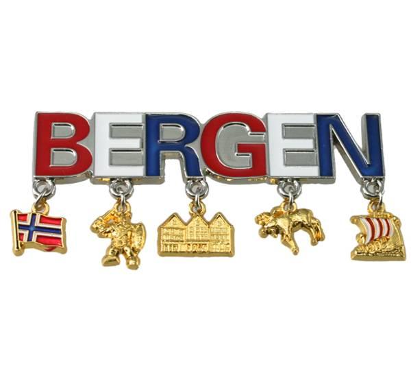 Bilde av Magnet Bergen m. anheng