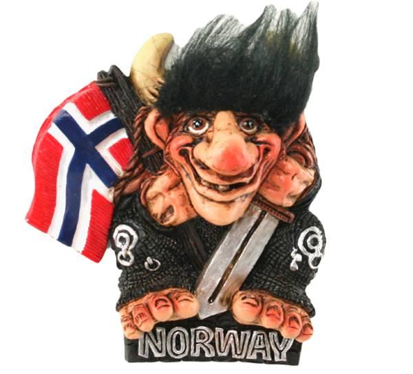 Bilde av Magnet, Troll med flagg