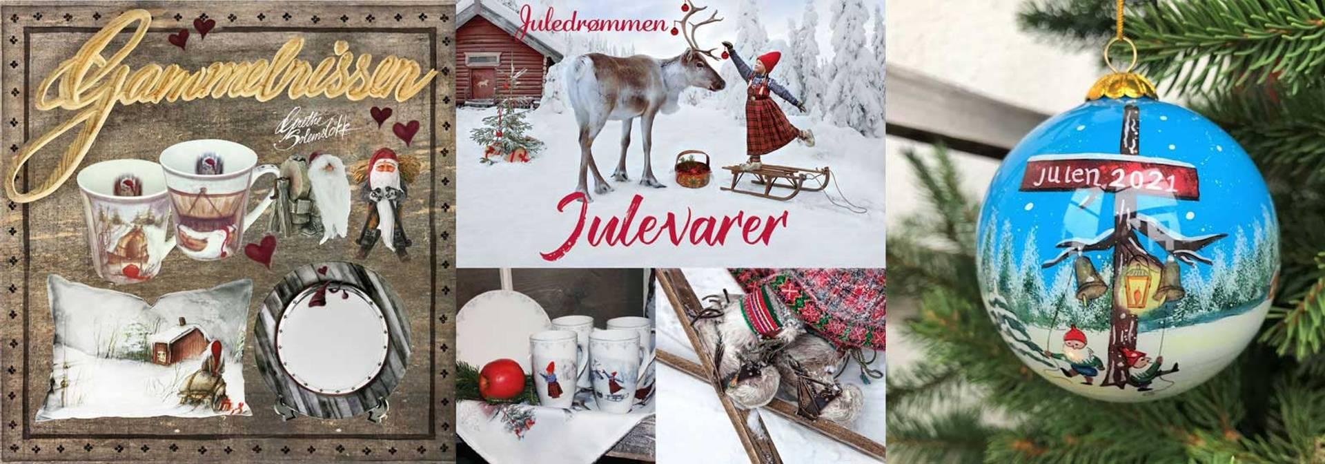Julekule 2021, Gammelnissen, Vinterbarn, Julestemning, Nisser, Engelr
